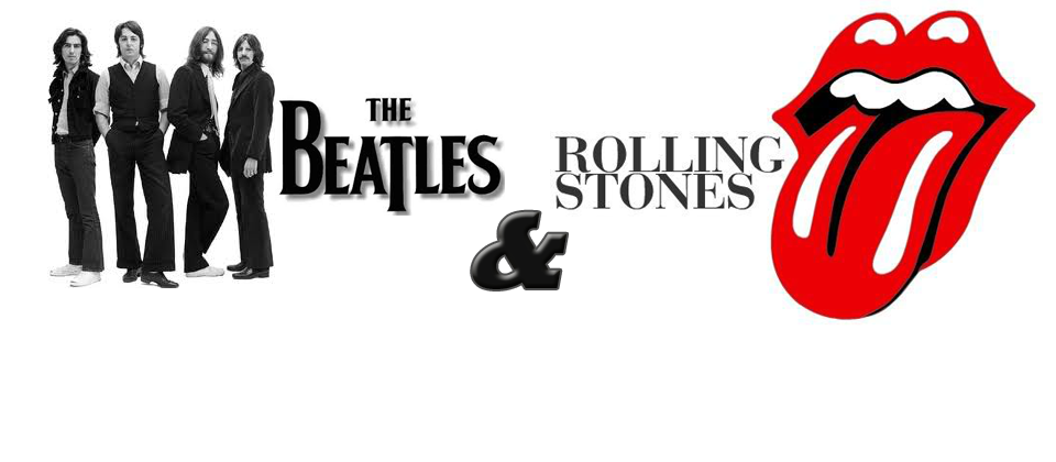 The Beatles and The Stones