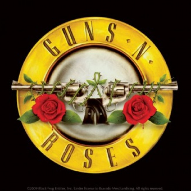 Single Coaster - Guns N Roses (Logo) - Genre